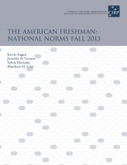 The American Freshman - Norms of 2013